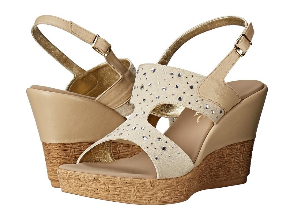 Onex - Napa (Beige/Clear Stones) Women's Sandals