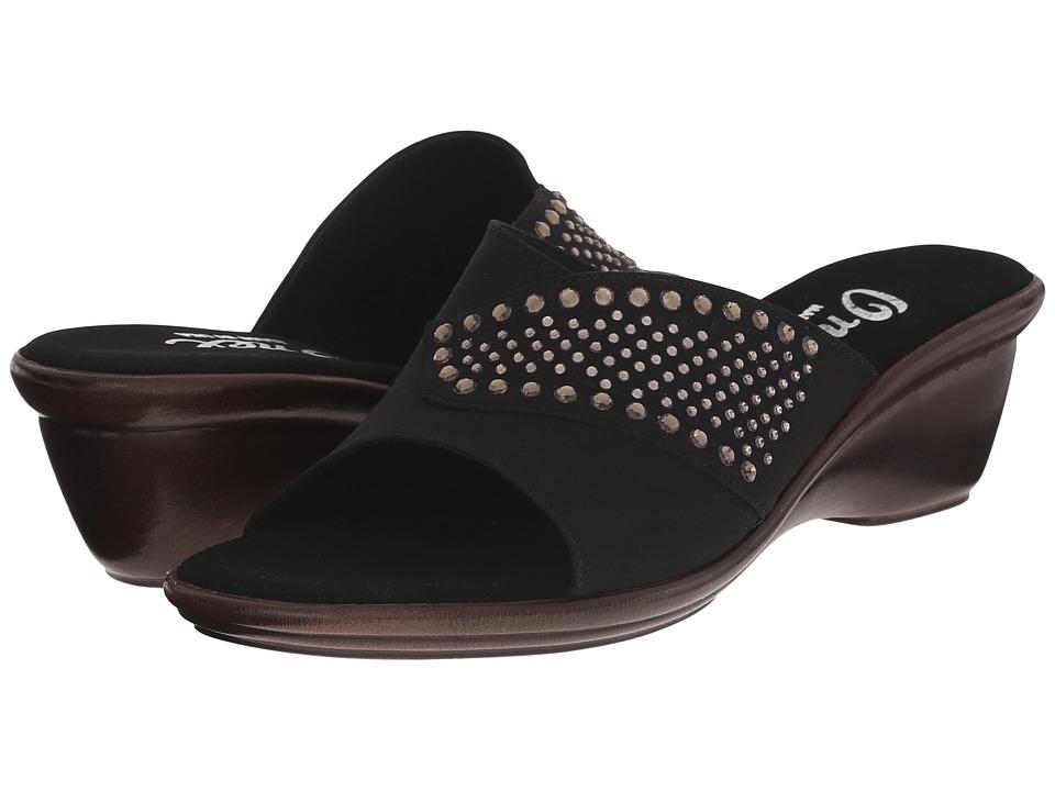 Onex - Shine (Black/Black Stones) Women's Sandals