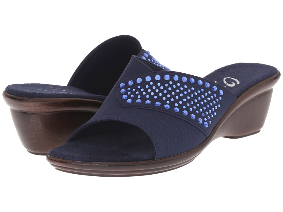 Onex - Shine (Navy/Blue Stones) Women's Sandals
