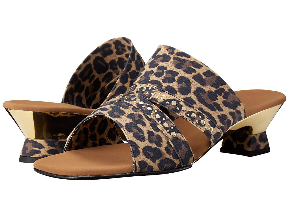 Onex - Letty (Leopard/Gold) Women's Sandals