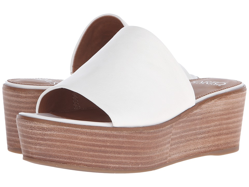 Franco Sarto - Eileen (White) Women's Wedge Shoes