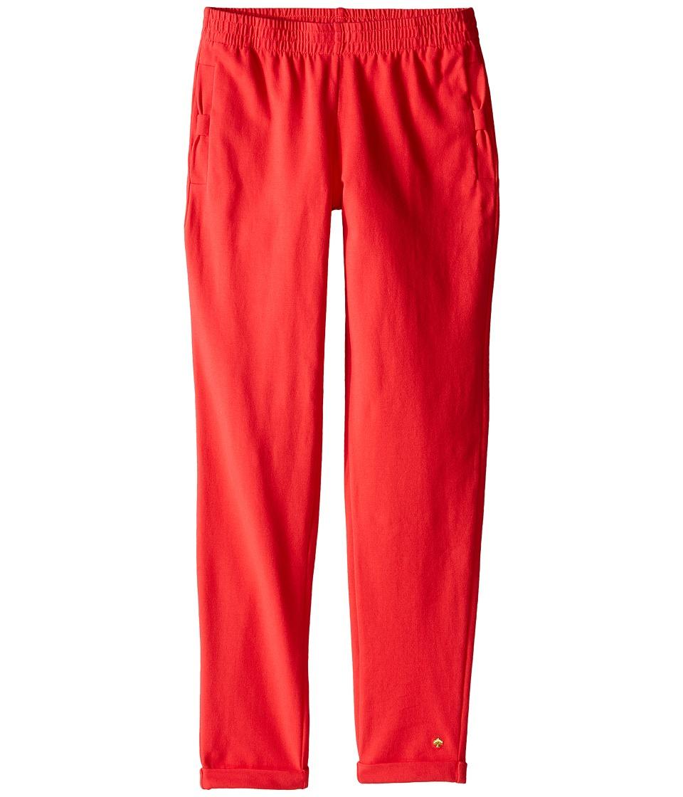 Kate Spade New York Kids - Bow Pocket Lounge Pants (Big Kids) (Geranium) Girl's Casual Pants