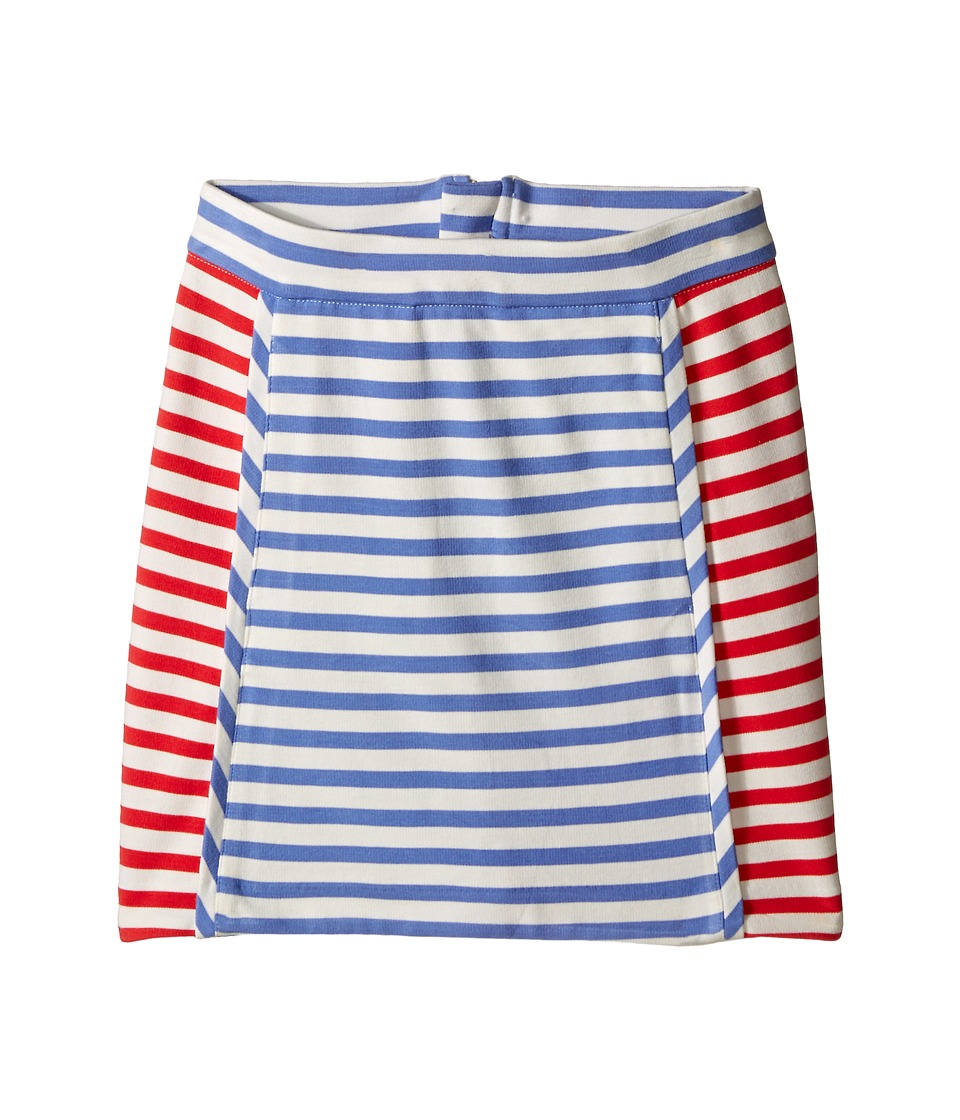 Kate Spade New York Kids - Stripe A-Line Skirt (Big Kids) (Periwinkle/Geranium/Cream Stripe) Girl's Skirt