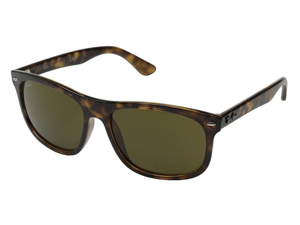Ray-Ban - RB4226 59mm (Shiny Havanna/Dark Brown) Fashion Sunglasses