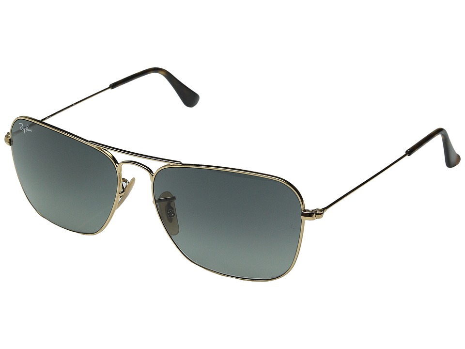 Ray-Ban - RB3136 58mm (Gold/Light Gray Gradient Dark Gray) Fashion Sunglasses