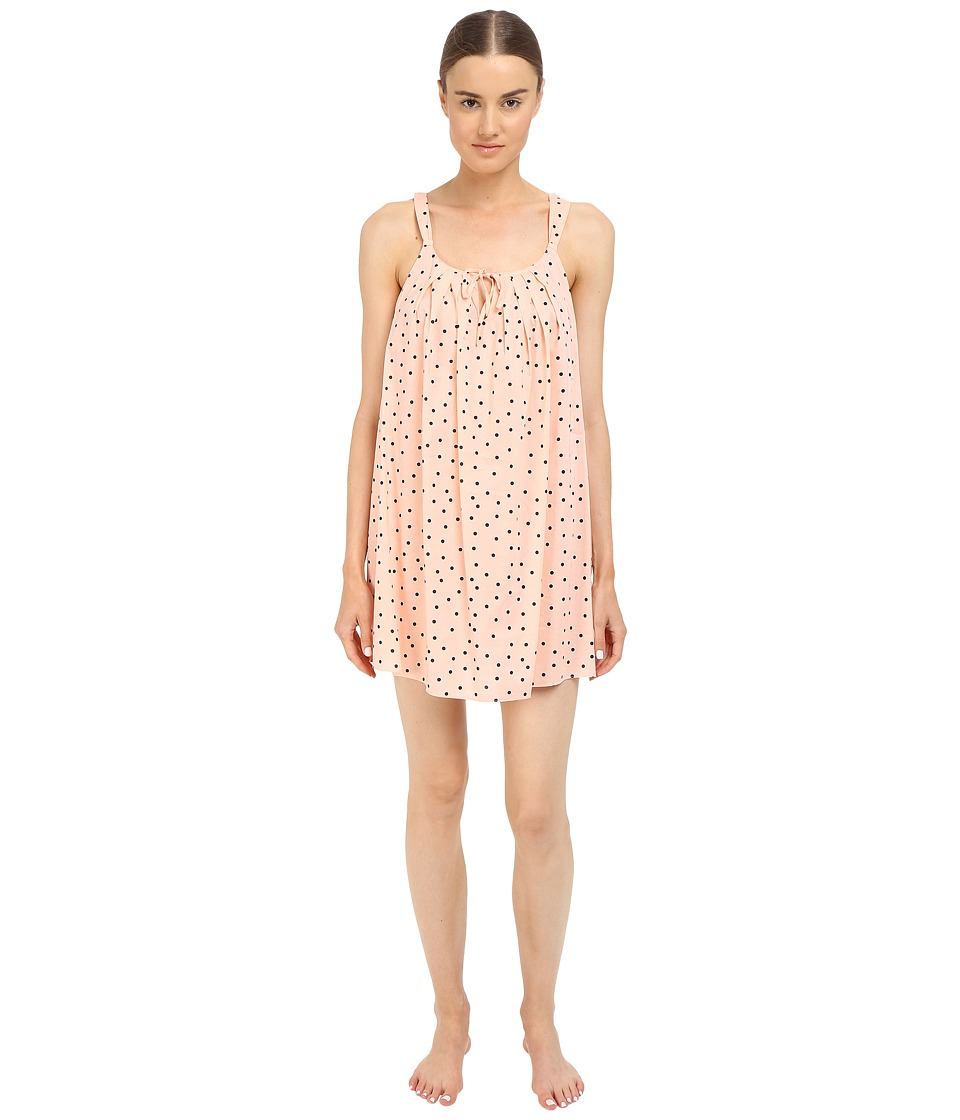 Kate Spade New York - Lawn Chemise (Mini Shadow Dot Pink) Women's Pajama