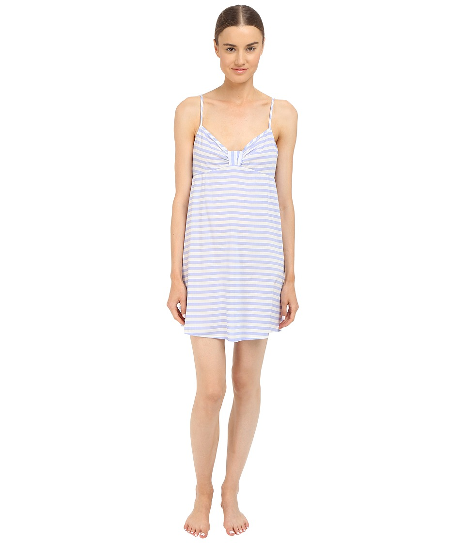 Kate Spade New York - Lawn Chemise (Bold Stripe Pale Aster) Women's Pajama