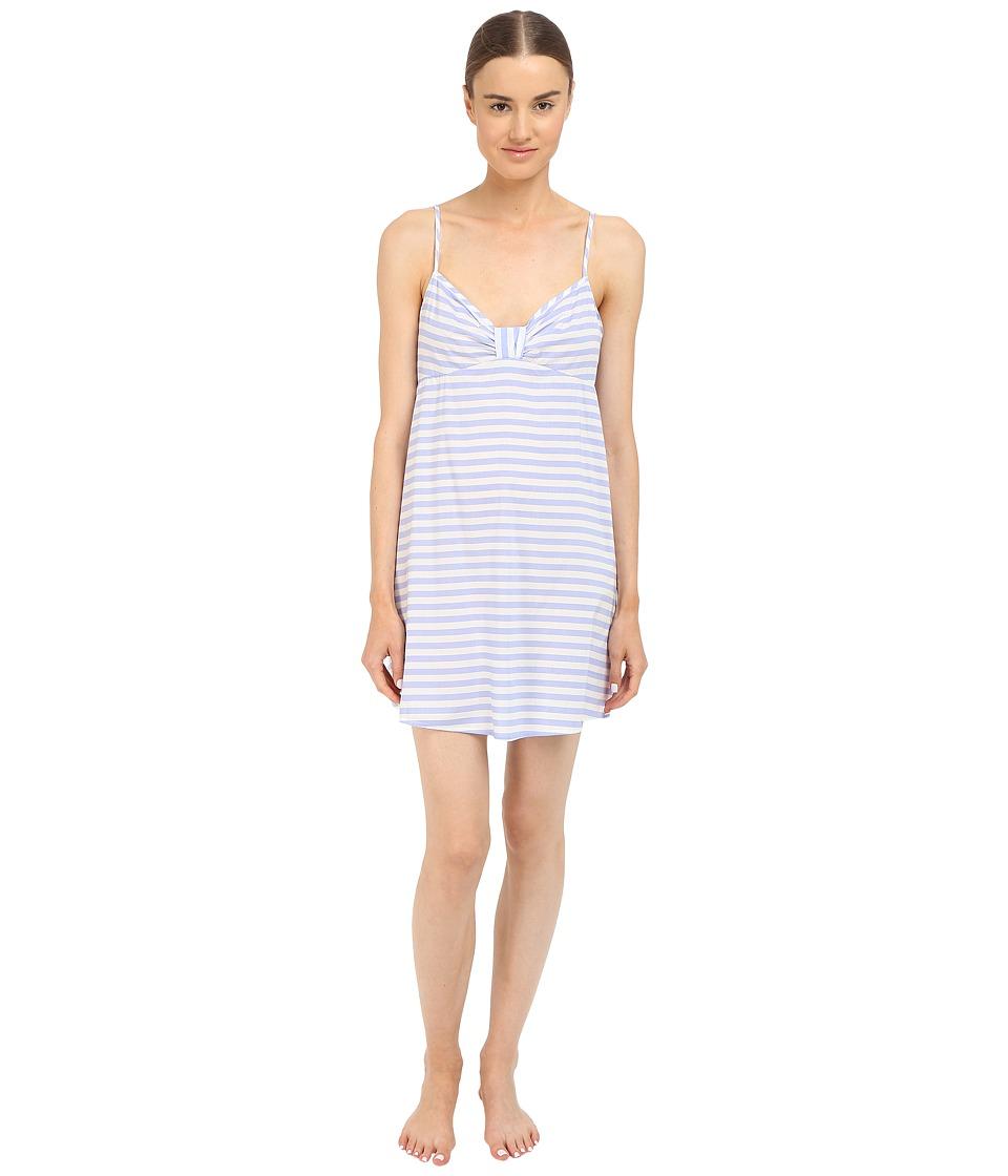 Kate Spade New York - Lawn Chemise (Bold Stripe Pale Aster) Women's Pajama