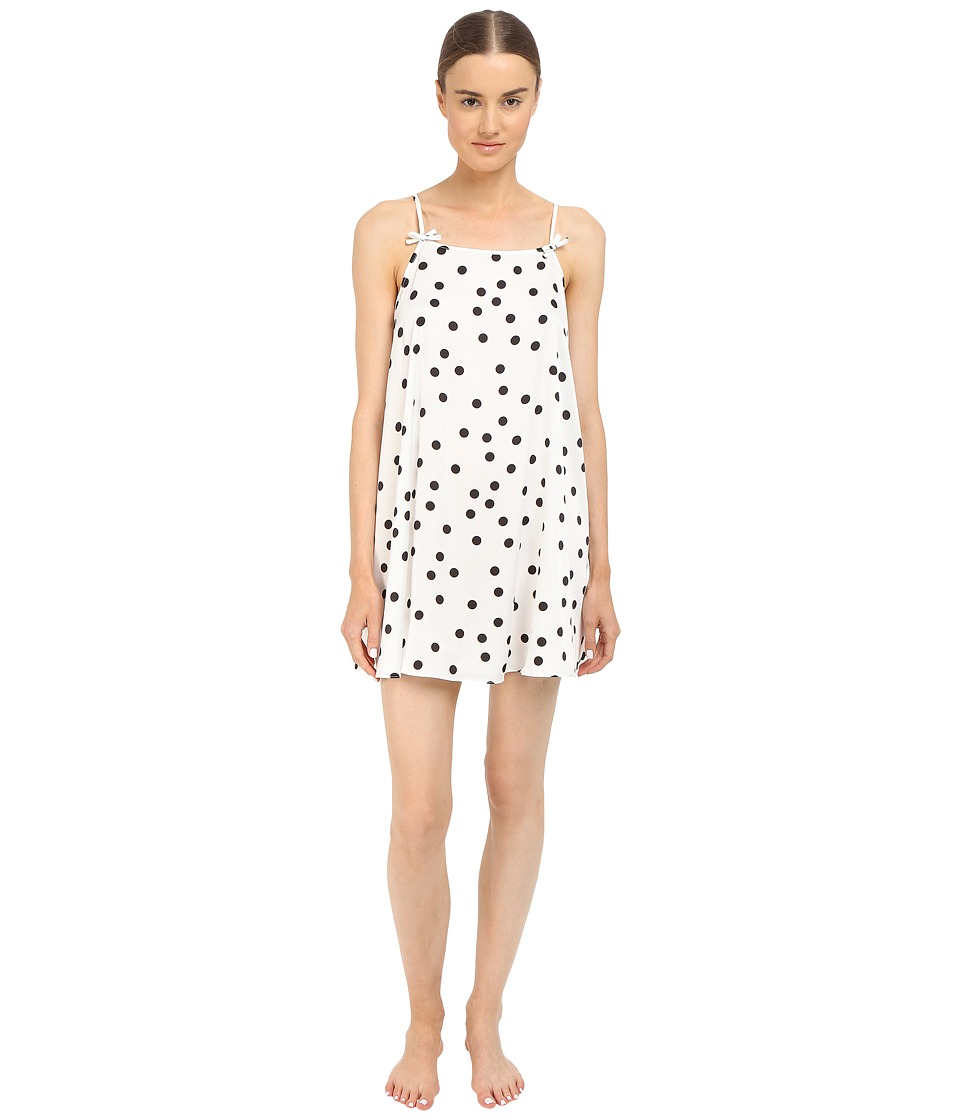 Kate Spade New York - Charmeuse Chemise (Shadow Dot) Women