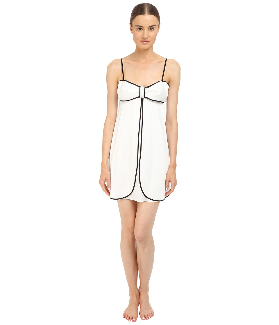 Kate Spade New York - Charmeuse Chemise (Off-White) Women's Pajama