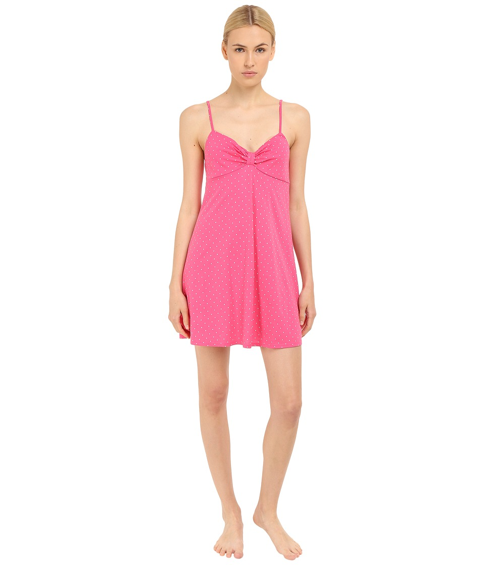 Kate Spade New York - Jersey Chemise (Pin Dot Pink) Women's Pajama