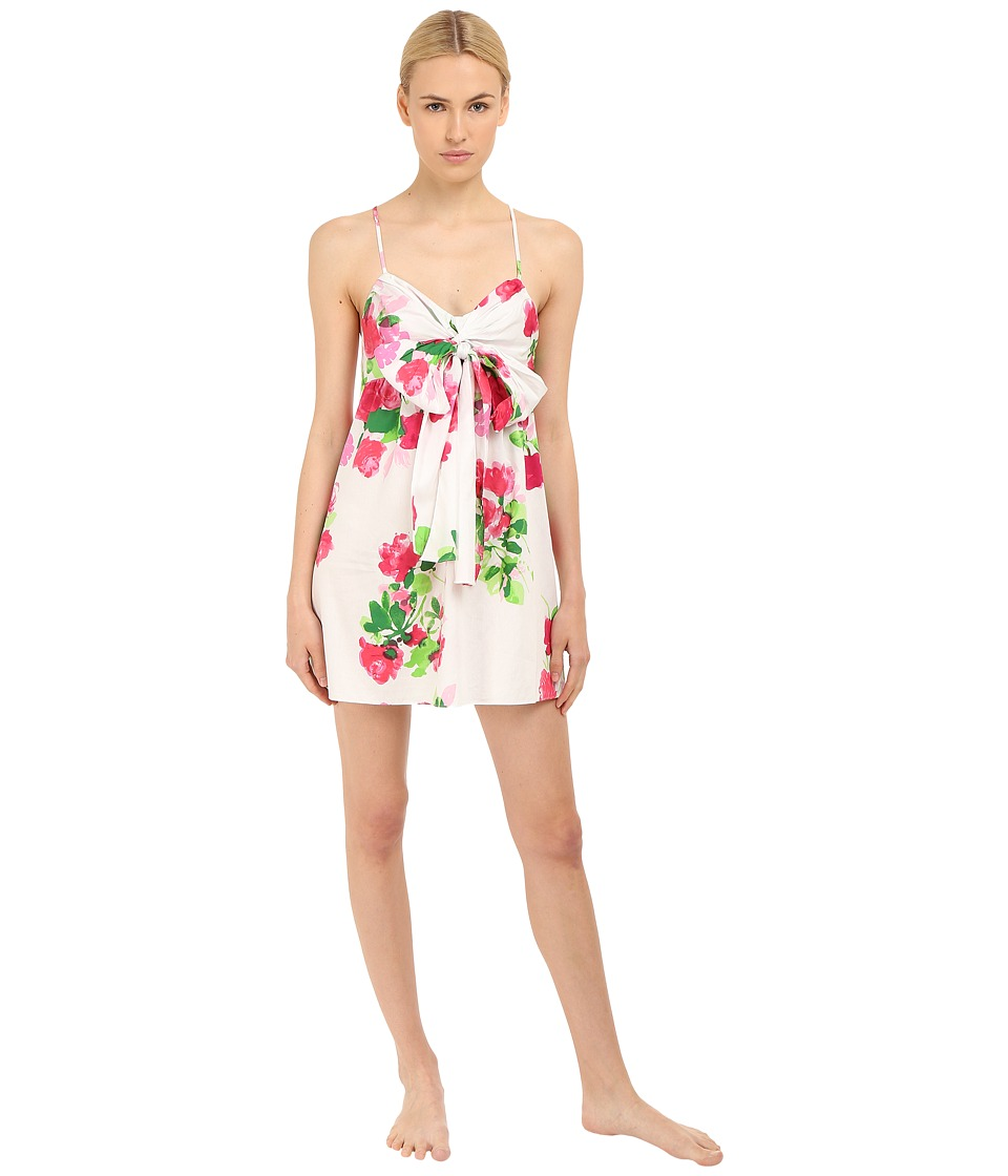 Kate Spade New York - Sateen Chemise (Floral) Women's Pajama