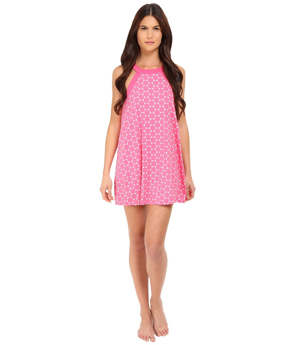 Kate Spade New York - Jersey Chemise (Large Dot Pink) Women's Pajama