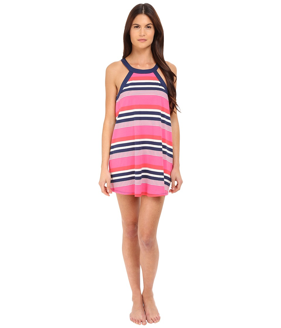 Kate Spade New York - Jersey Chemise (Multi Stripe) Women's Pajama