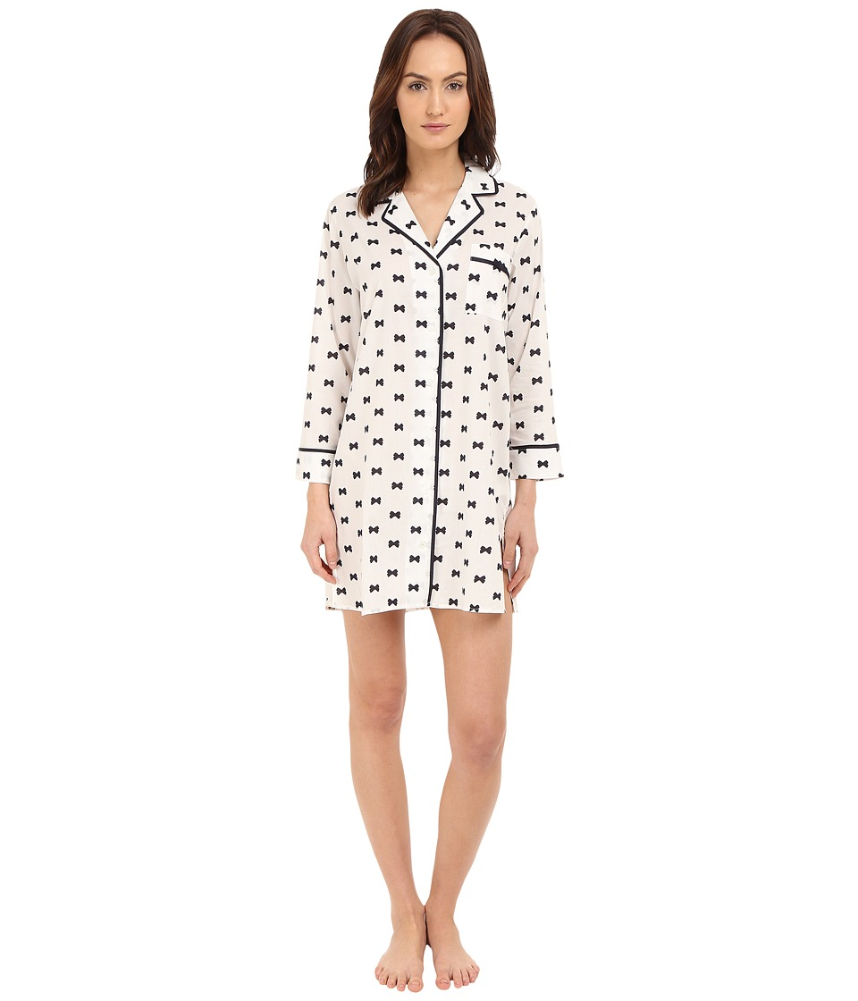 Kate Spade New York - Lawn Sleepshirt (Bow Tie) Women's Pajama