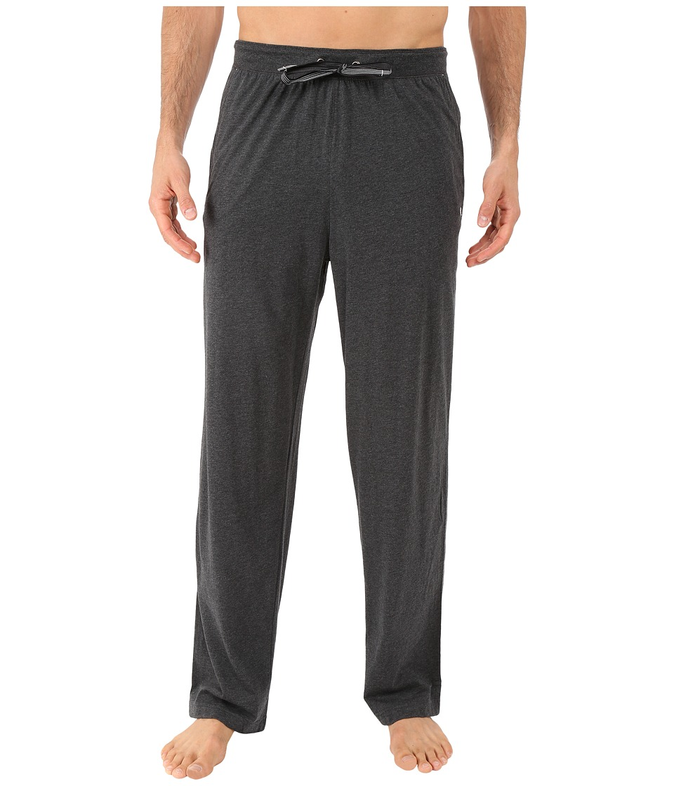 Tommy Bahama - Heather Cotton Modal Jersey Lounge Pants (Black Heather 2) Men's Pajama
