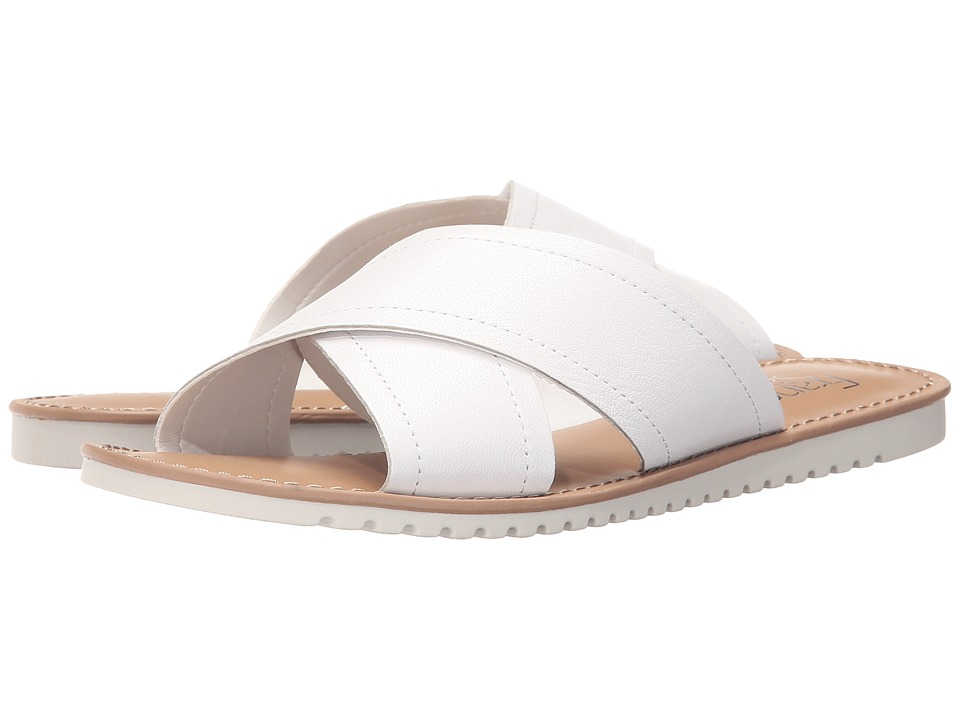 Franco Sarto - Quentin (White) Women's Sandals