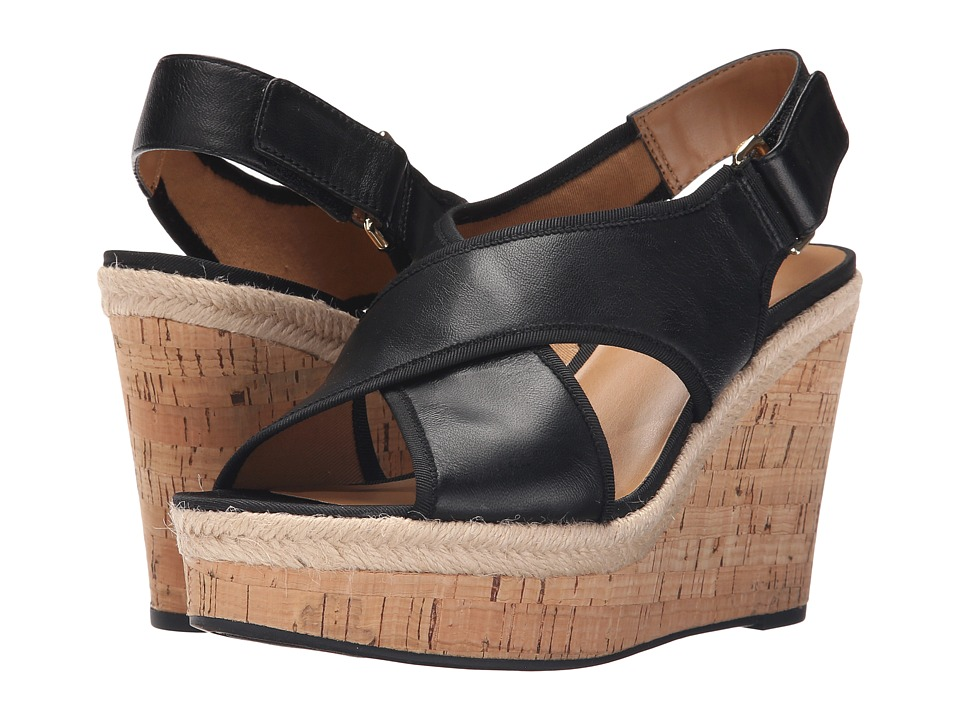 Franco Sarto - Taylor (Black) Women's Wedge Shoes