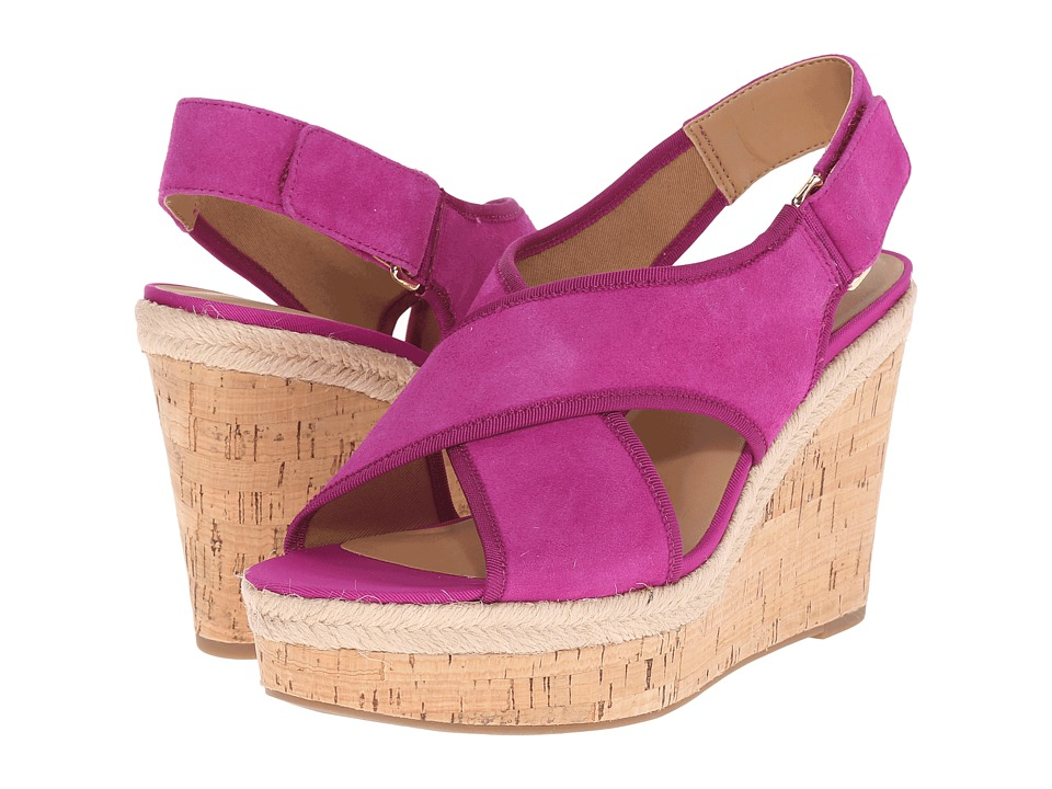 Franco Sarto - Taylor (Fuchsia) Women's Wedge Shoes