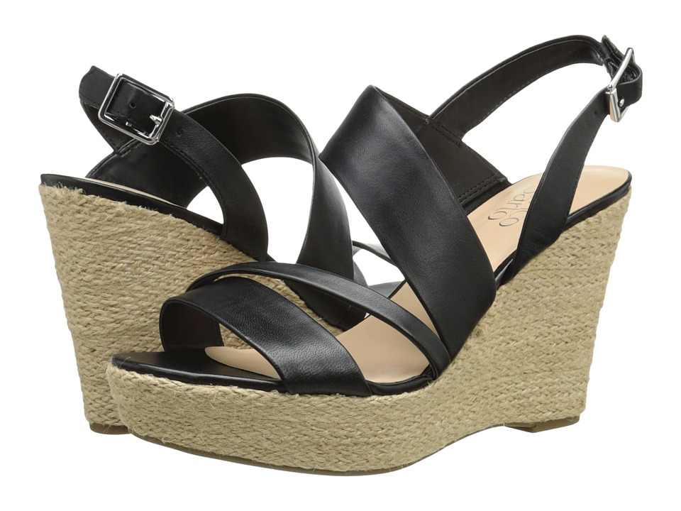 Franco Sarto - Sofia 2 (Black) Women's Wedge Shoes