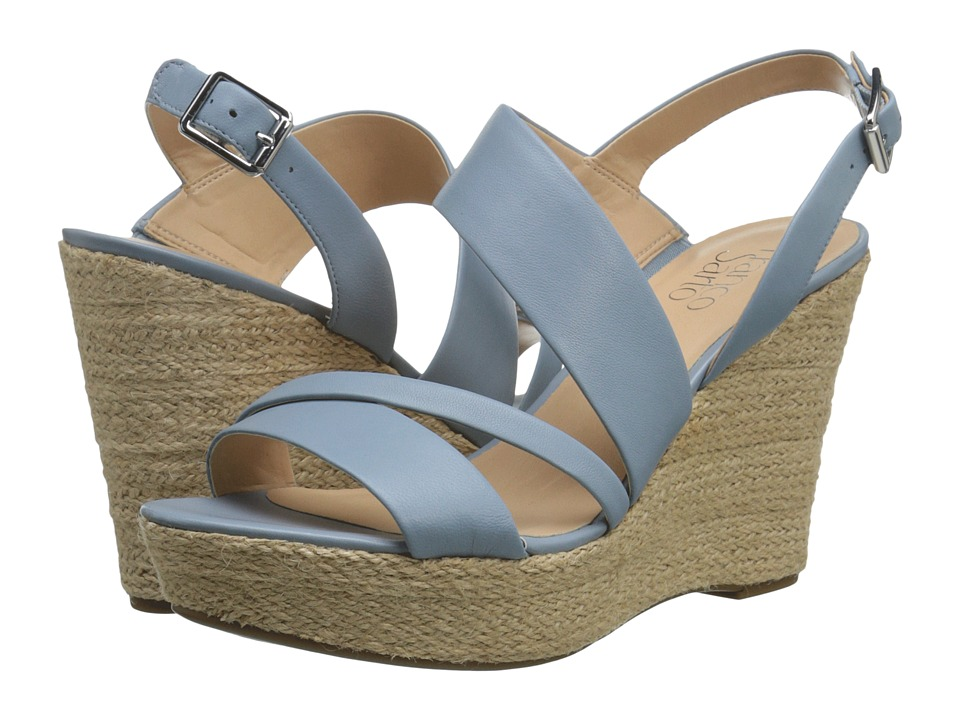 Franco Sarto - Sofia 2 (Pale Blue) Women's Wedge Shoes
