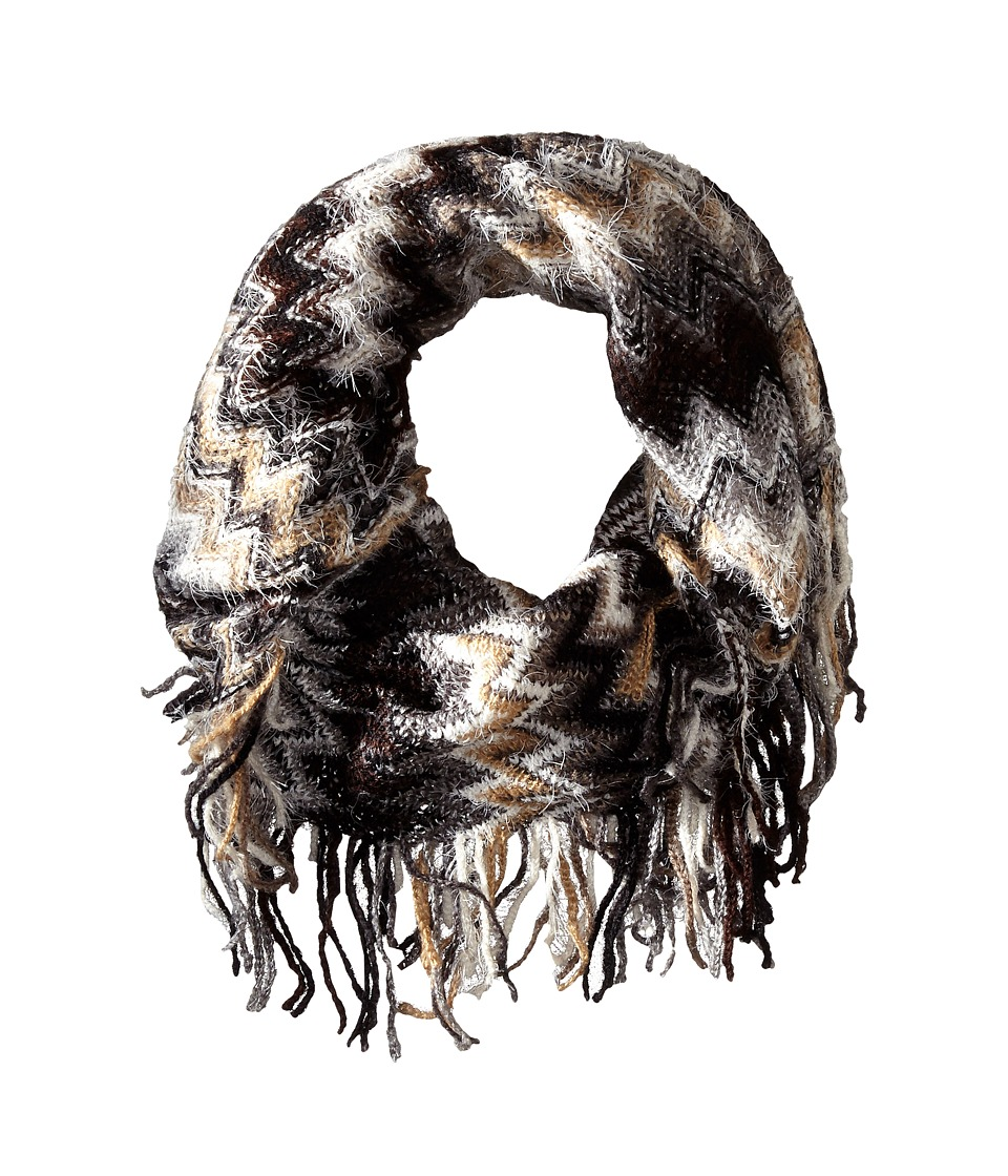 Steve Madden - Waivering Decision Snood (Black) Scarves
