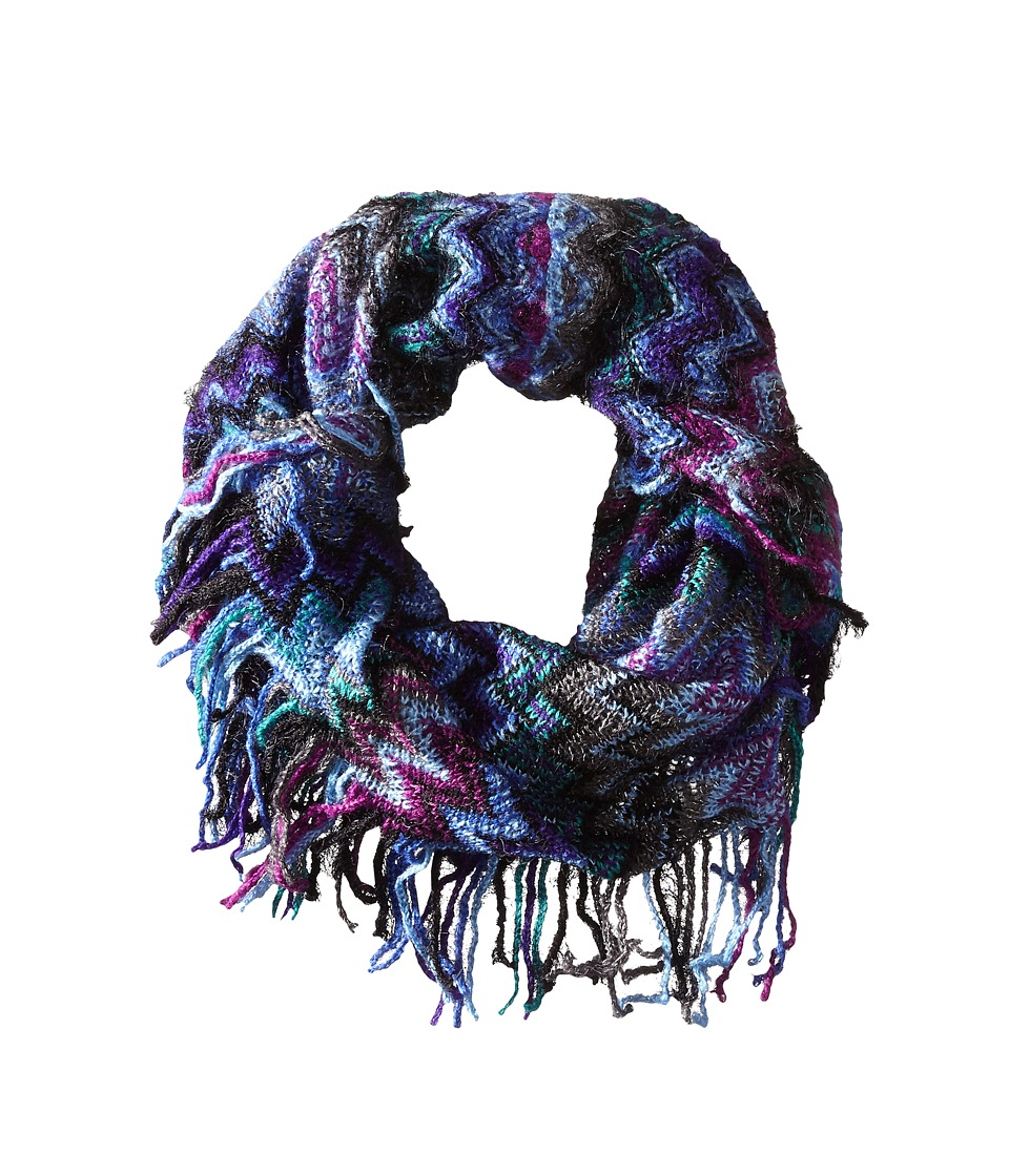 Steve Madden - Waivering Decision Snood (Teal) Scarves