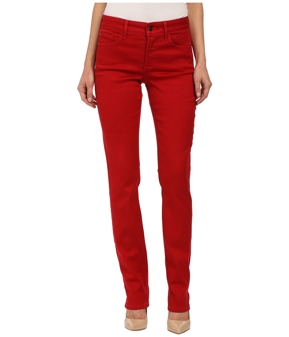 NYDJ - Samantha Slim Sculpting Stretch (Cardinal Red 2) Women's Casual Pants
