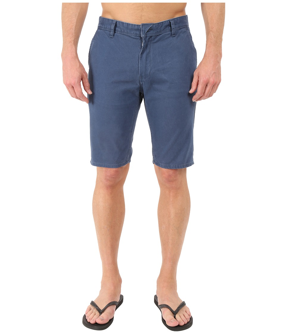 Quiksilver - Everyday Chino Walkshorts (Dark Denim) Men's Shorts