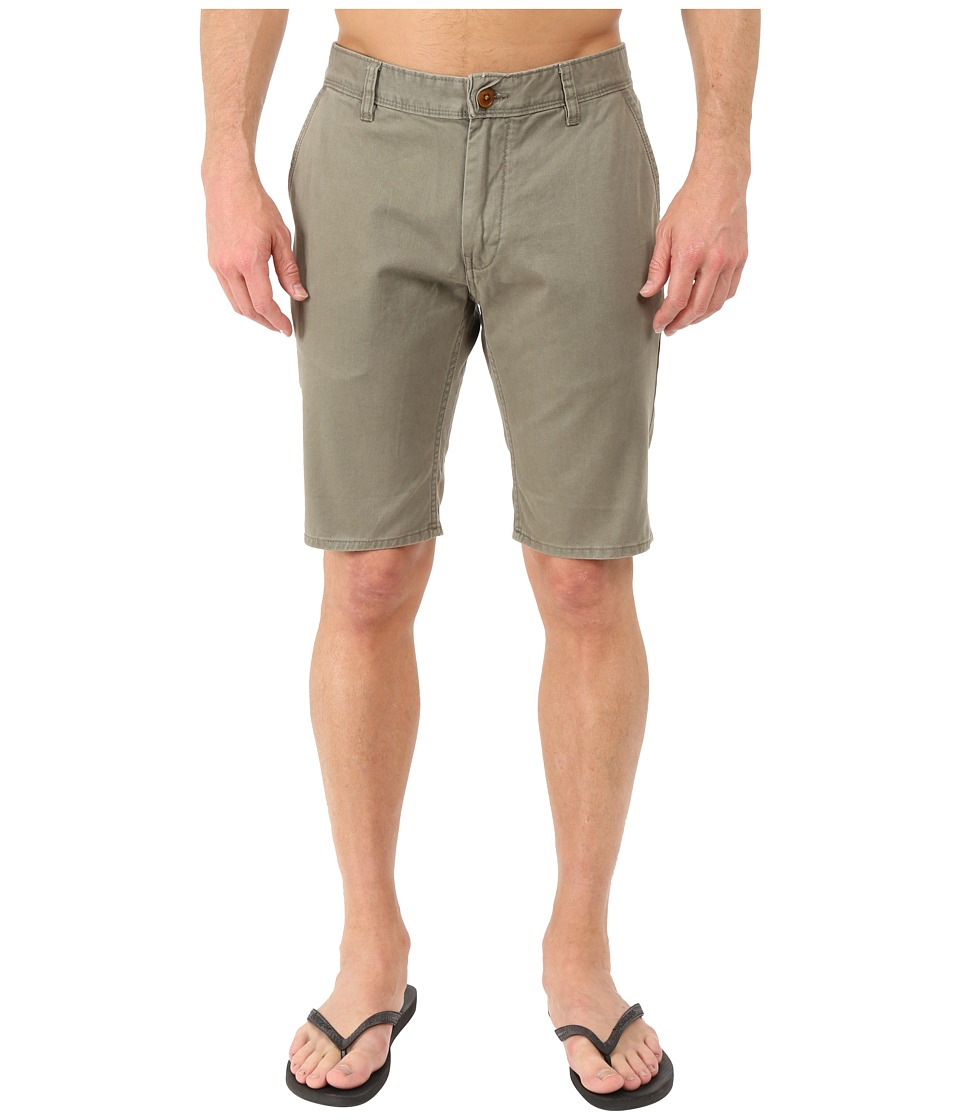 Quiksilver - Everyday Chino Walkshorts (Dusty Olive) Men's Shorts