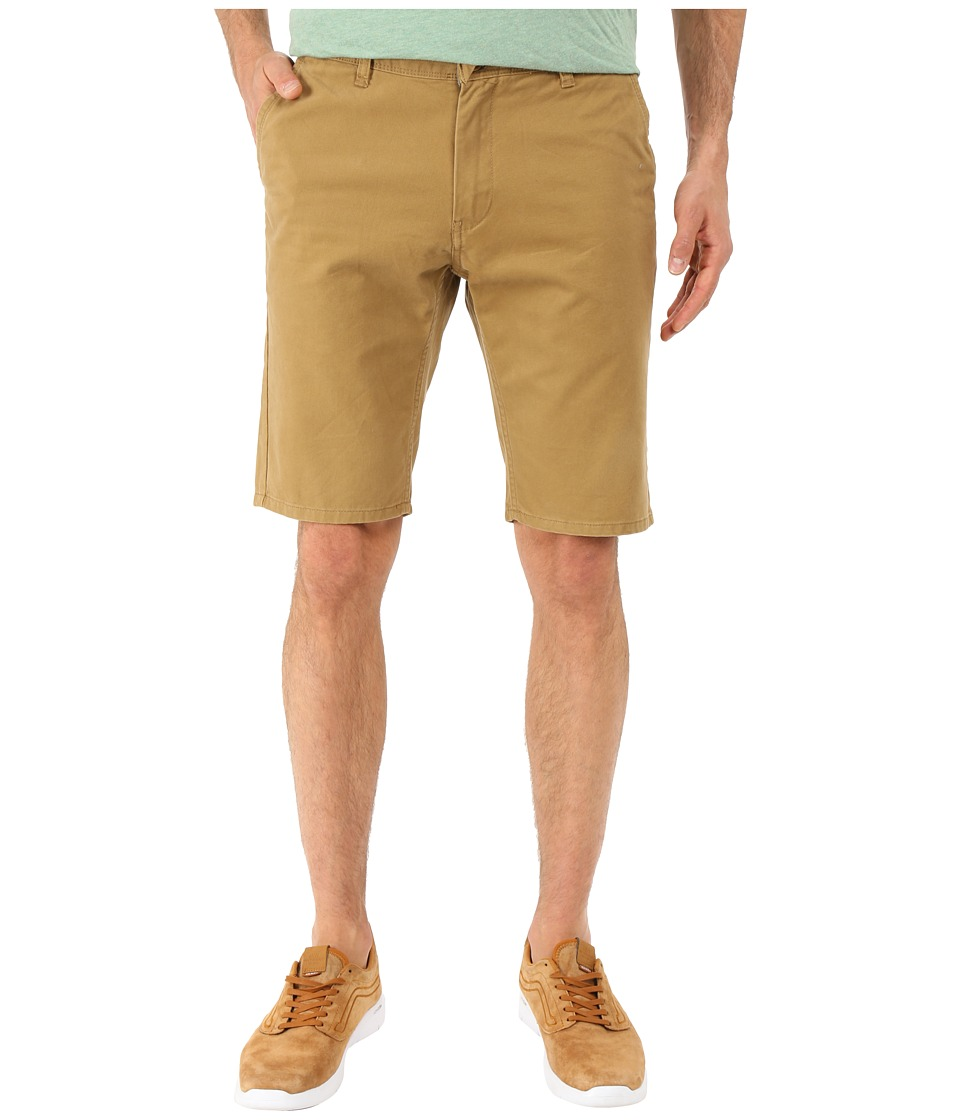 Quiksilver - Everyday Chino Walkshorts (British Khaki) Men's Shorts