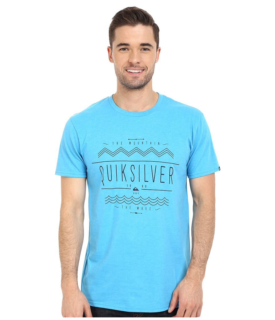 Quiksilver - MTW Tee (Diva Blue Heather) Men's T Shirt
