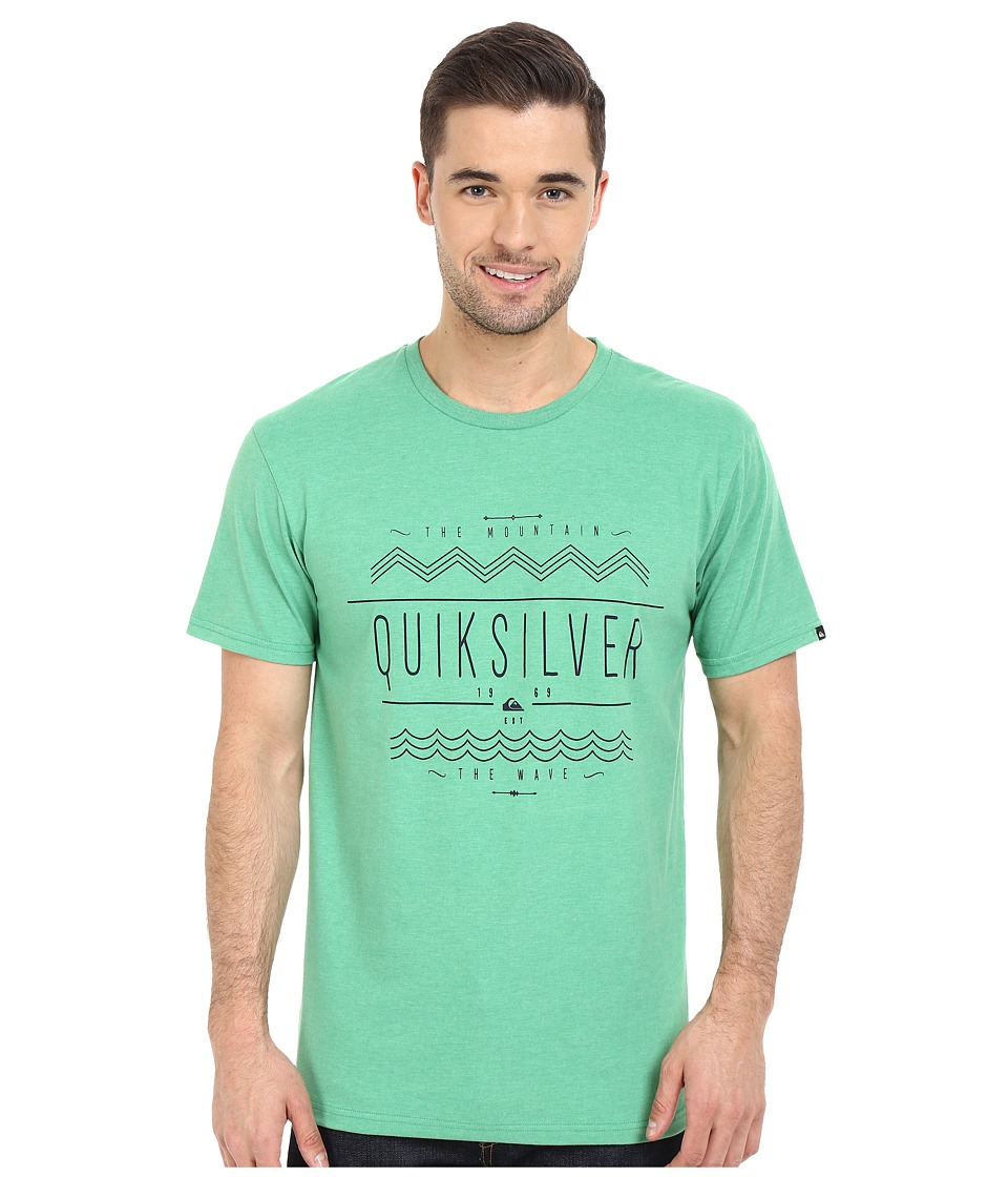 Quiksilver - MTW Tee (Pine Green Heather) Men's T Shirt
