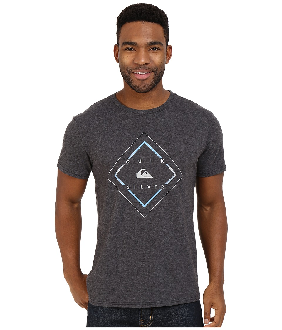 Quiksilver - D Day Tee (Charcoal Heather) Men's T Shirt