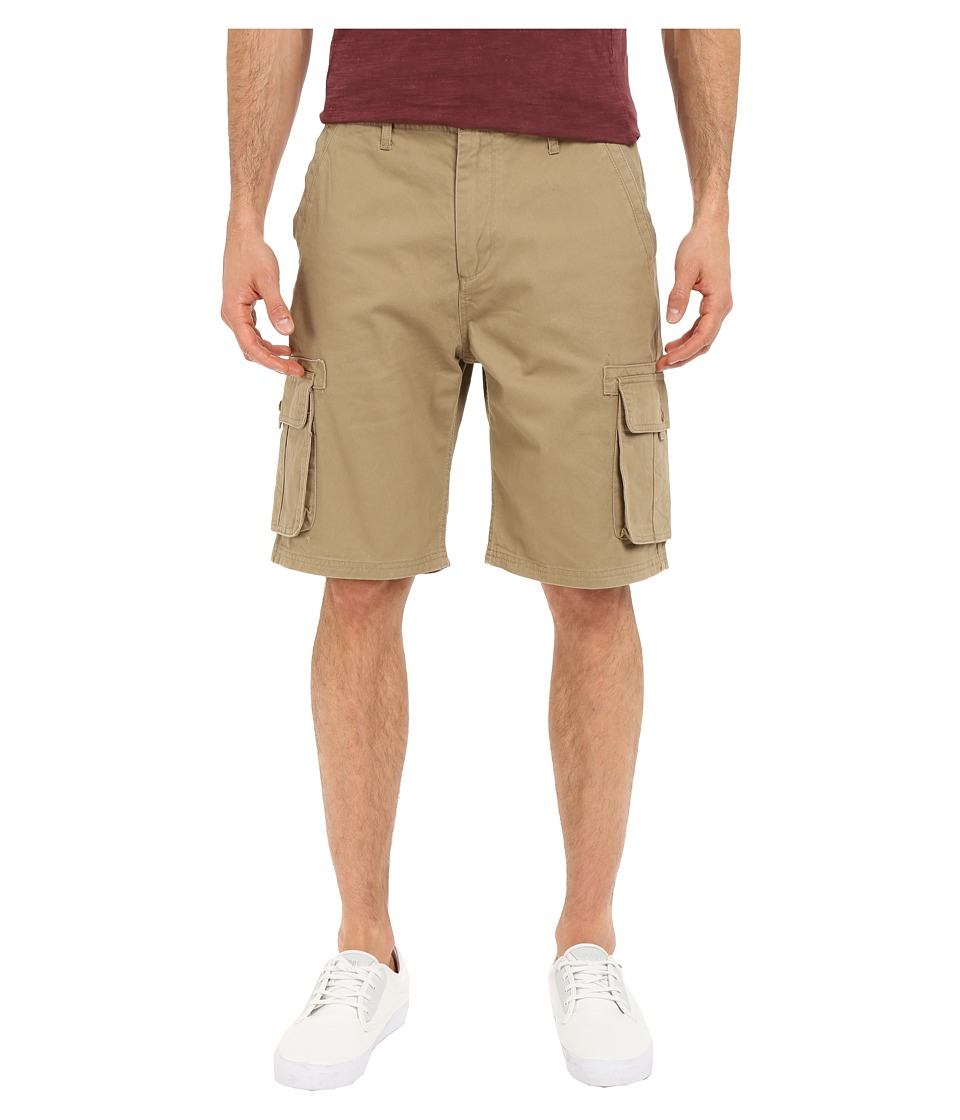 Quiksilver - Deluxe Cargo Walkshorts (Elmwood) Men's Shorts