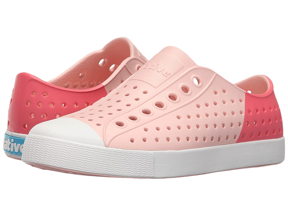 Native Shoes - Jefferson (Pucci Pink/Shell White/Snapper Red Block) Shoes