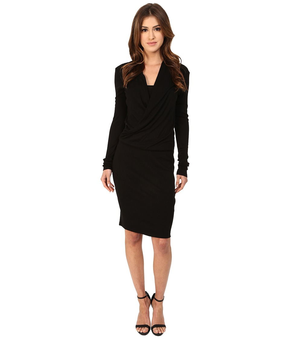Three Dots - Abigail Dress (Black) Women's Dress