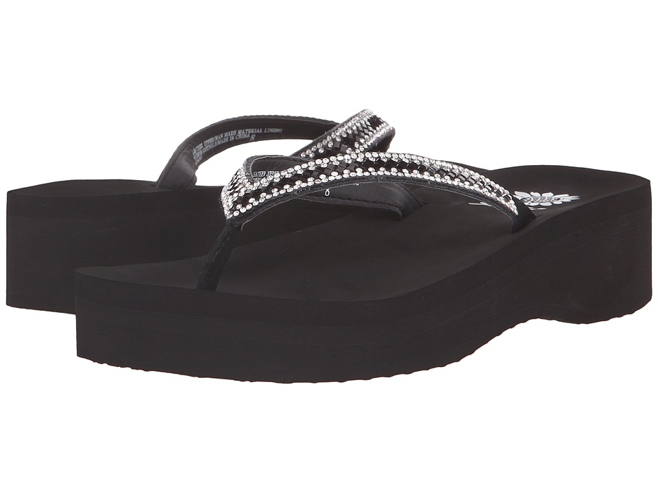 Yellow Box - Albany (Black) Women's Sandals