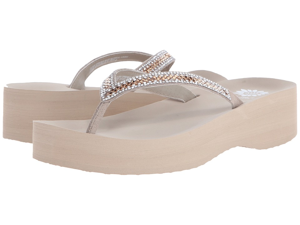Yellow Box - Albany (Taupe/Peach) Women's Sandals