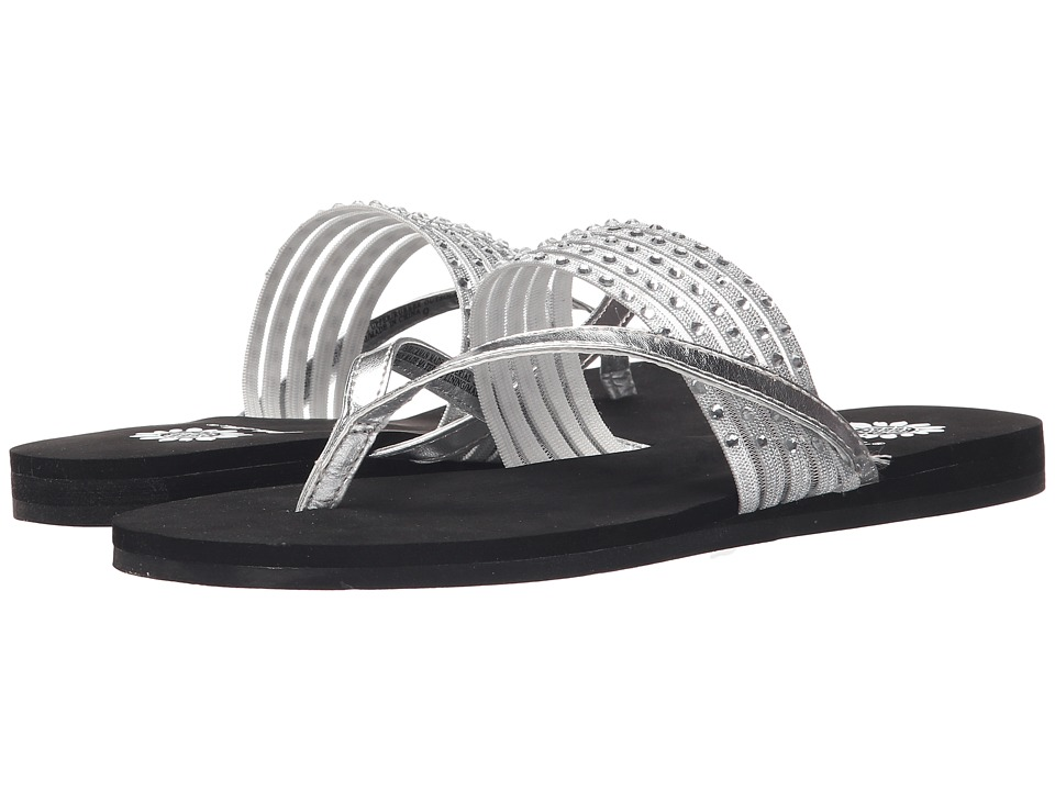 Yellow Box - Cybil (Silver) Women's Sandals