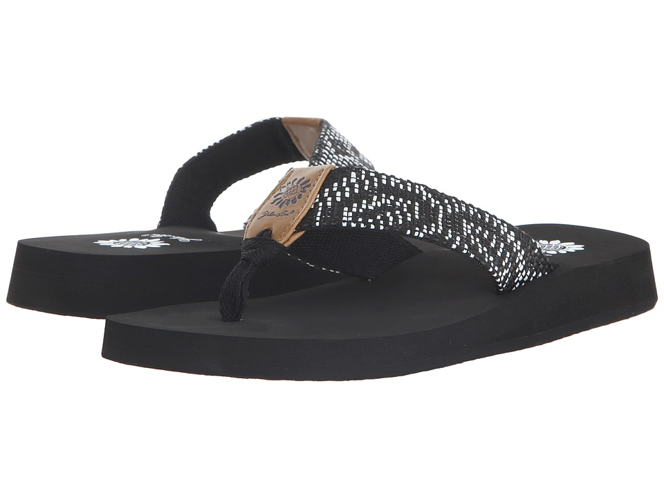 Yellow Box - Emory (Black/White) Women's Sandals