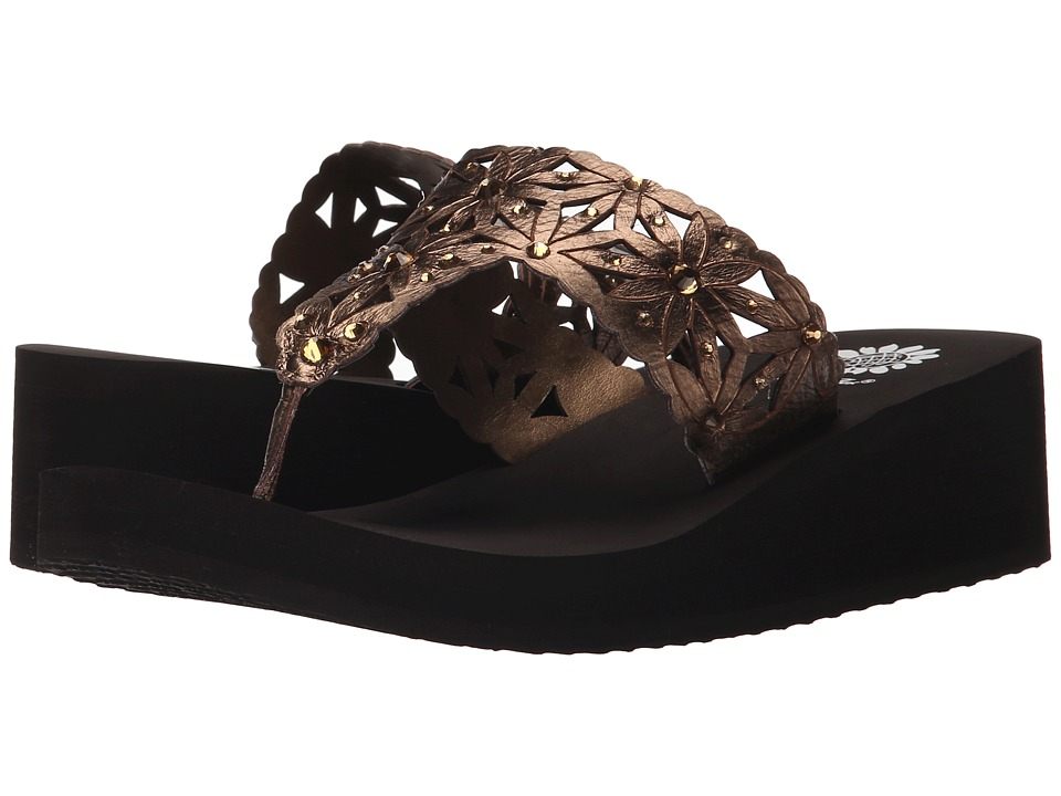 Yellow Box - Pasadena (Bronze) Women's Sandals