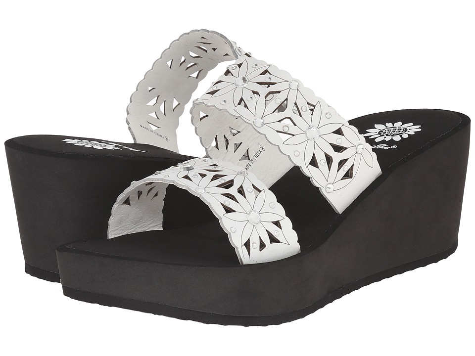 Yellow Box - Marino (Black/White) Women's Sandals