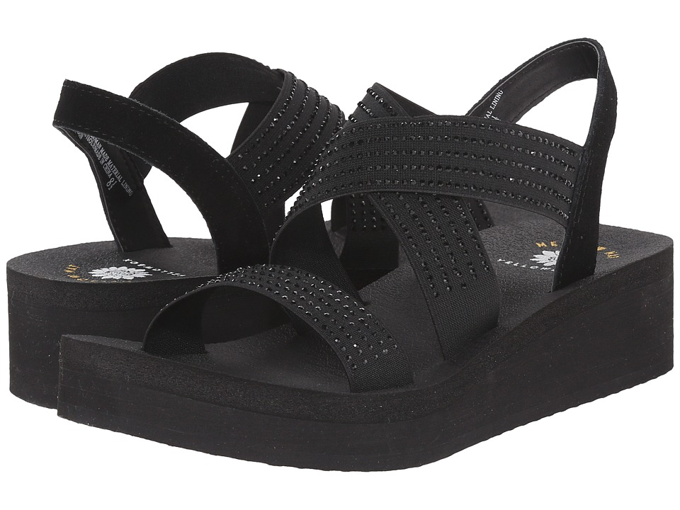 Yellow Box - Brandon (Black) Women's Sandals