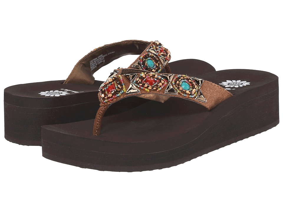 Yellow Box - Azteck (Bronze Multi) Women's Sandals