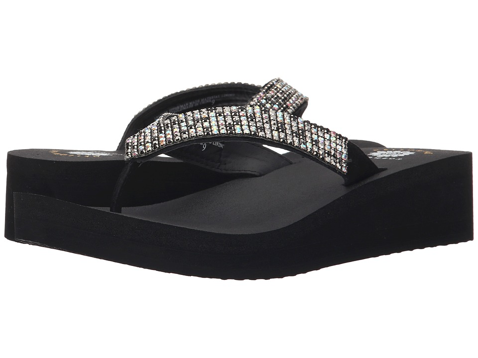 Yellow Box - Joss (Black) Women's Sandals