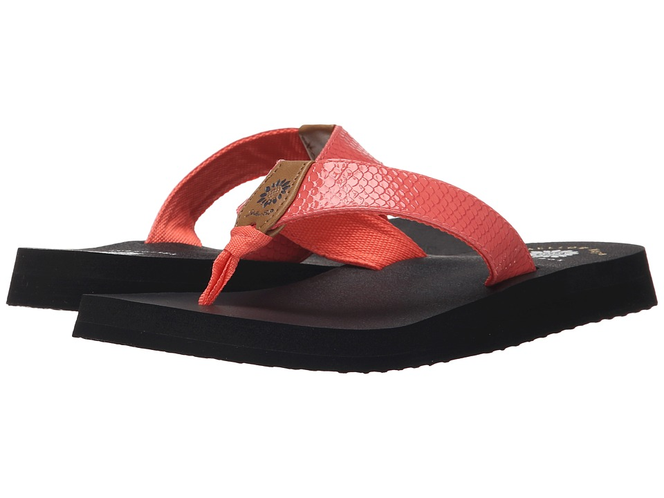 Yellow Box - Bountiful (Coral) Women's Sandals