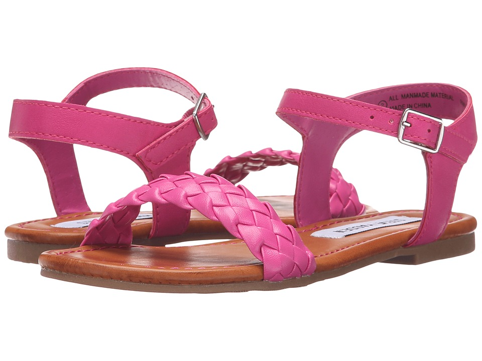 Steve Madden Kids - Jmargin (Little Kid/Big Kid) (Fuchsia) Girl