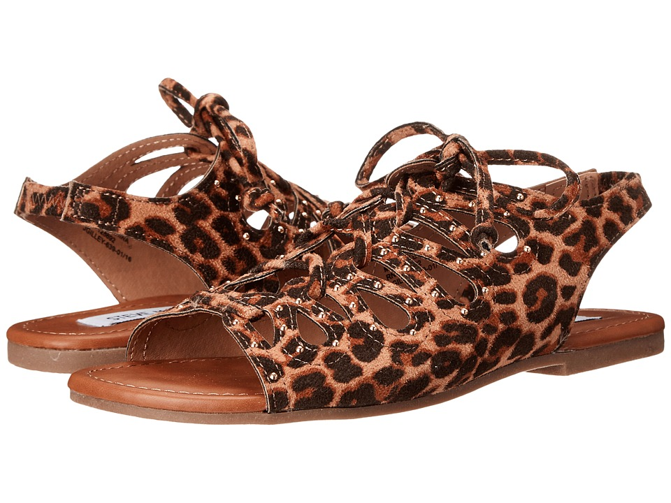Steve Madden Kids - Jgilley (Little Kid/Big Kid) (Leopard) Girl