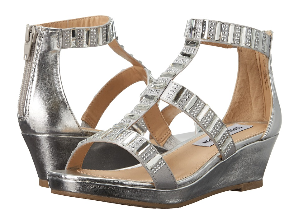 Steve Madden Kids - Jameoo (Little Kid/Big Kid) (Silver) Girl